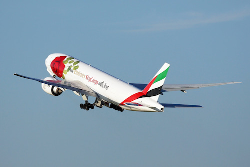 Preview: Emirates SkyCargo says it with flowers