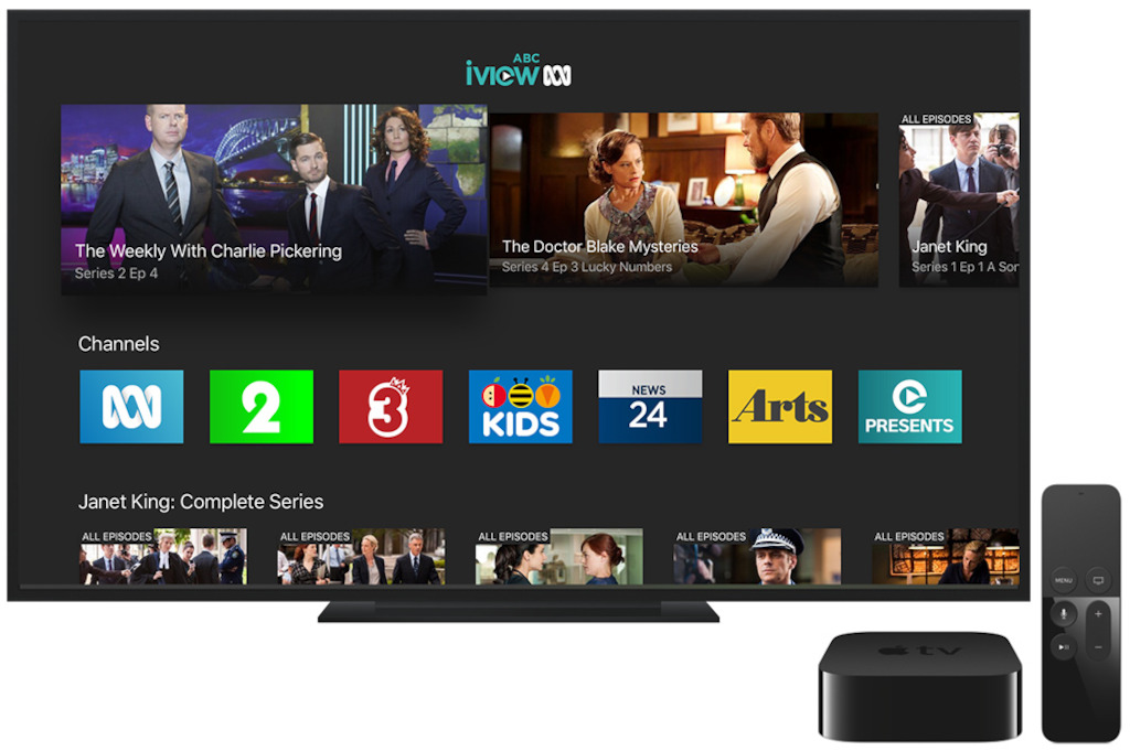 ABC iview on Apple TV