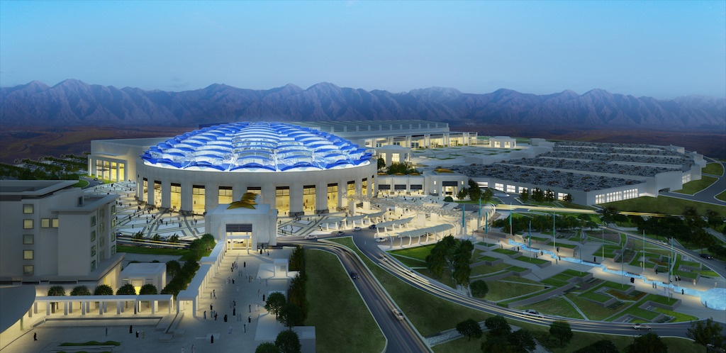 Convention Center – Oman Convention & Exhibition Center - Oman