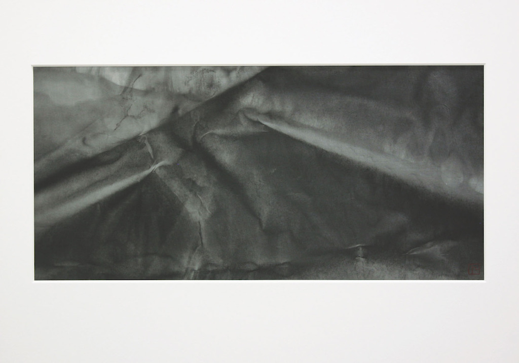 Kitai gallery_Reiko Tsunashima_A moment of Eternity_2006_Sumi-ink on paper_72x51cm