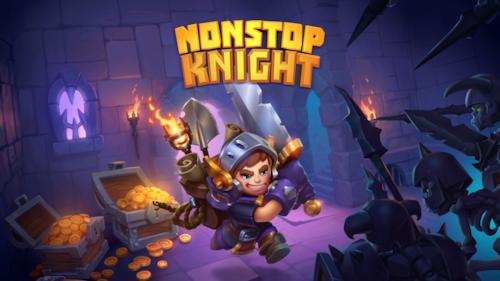 Co-op game mode released in Nonstop Knight as a Halloween treat