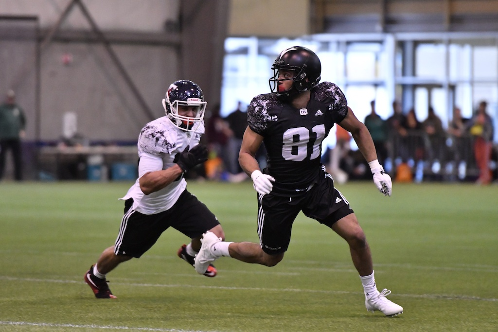 9. Nathaniel Behar. Photo Credit: Arthur Ward/CFL