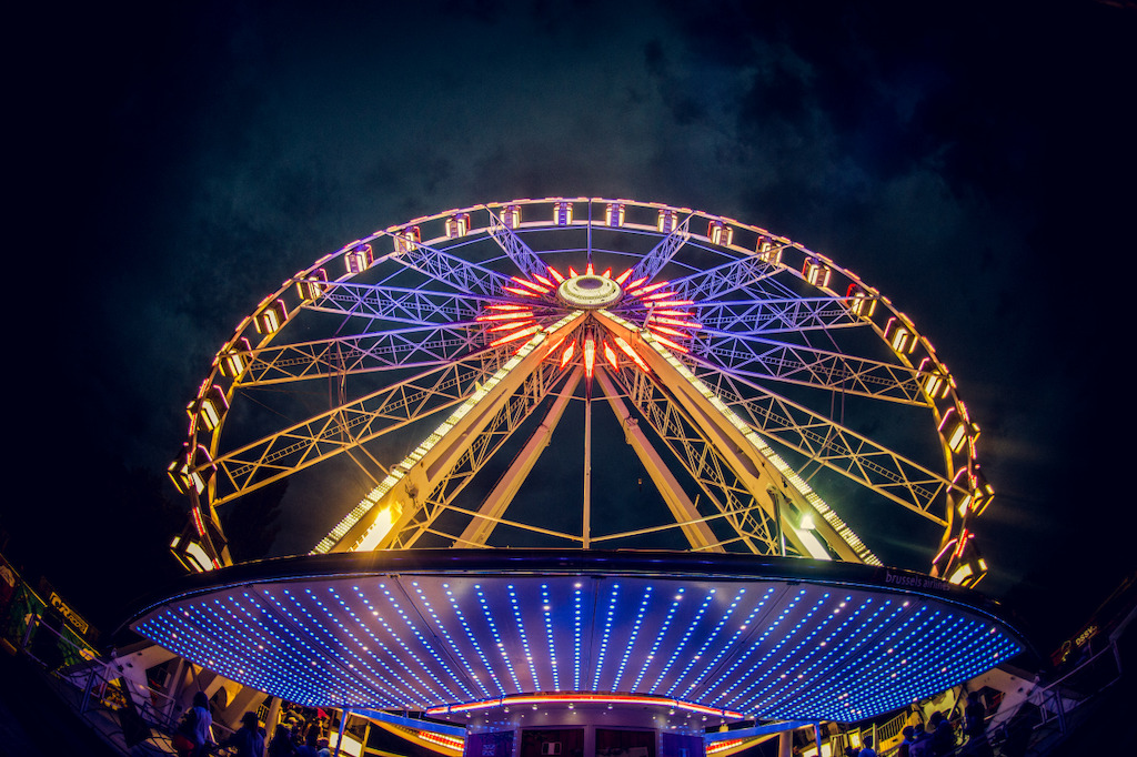 Cloud Rider TML - Brussels Airlines Ferris Wheel