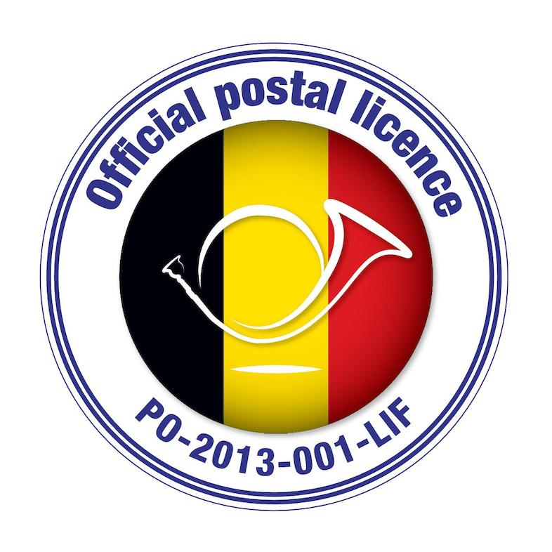 Official postal licence