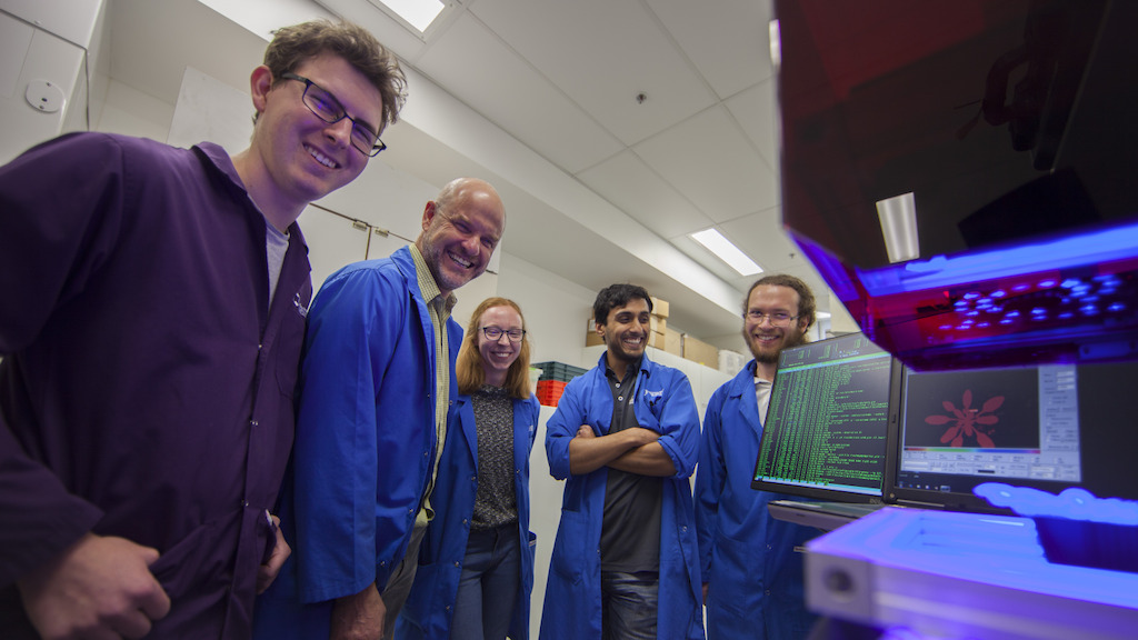 The research team (with Professor Barry Pogson second from the left). Image: Jack Fox, ANU