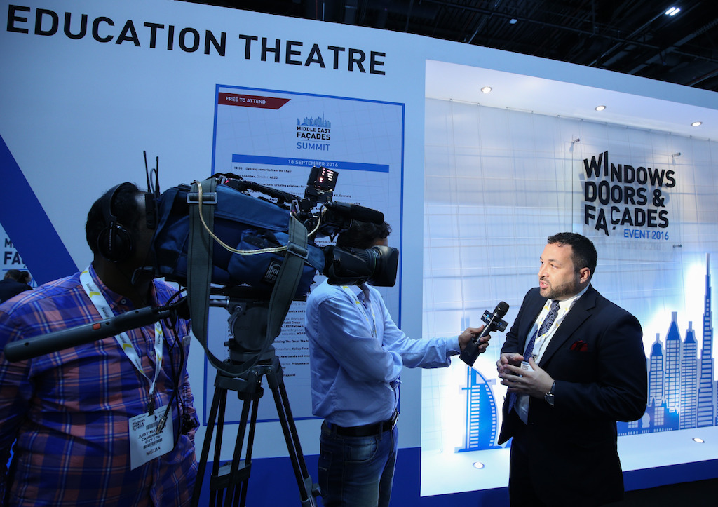 Education theater at Windows, doors & Facades 2016