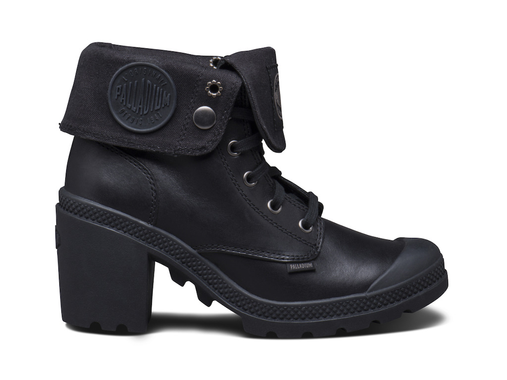 Palladium_women Baggy Heel Leather - 129.95