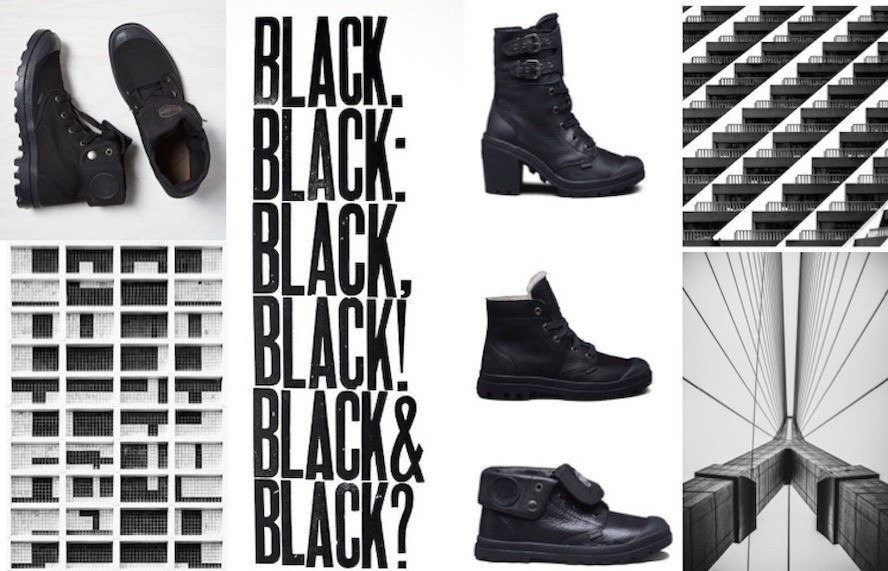 Les bottines Palladium Black : bien plus que l'affirmation d'un style!