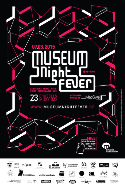 affiche Museum Night Fever 2015