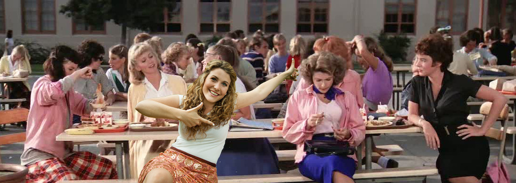 Maureen -zomerhit uit Grease