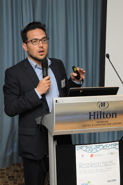 Antonino Furfari, Advocacy Manager - Plastics Recyclers Europe