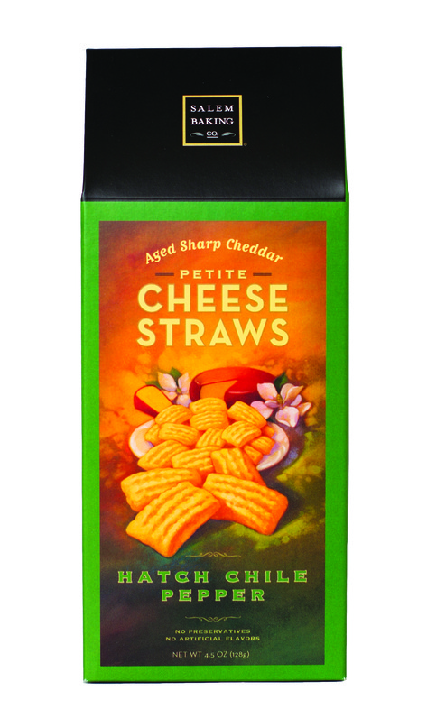 Salem Baking Hatch Chile Cheddar Cheese Straws