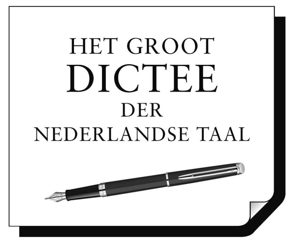 Nieuw Logo Groot Dictee 2016 -  (c) Men at Work / VRT