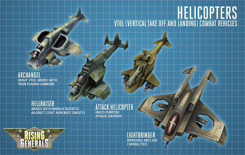 Helicopter Design Rising Generals