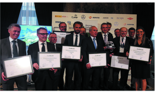 Preview: The 8 best polymer producers for Europe in 2017 awarded by the Polymers for Europe Alliance