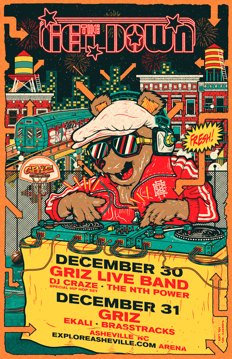 GRiZ Announces 'THE GET DOWN' NYE Shows