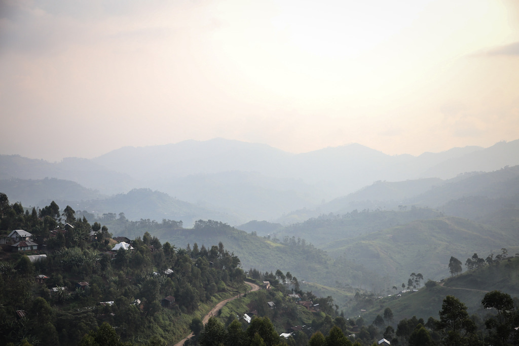 View of the hills from Masisi town. Photogrphaer: Sara Creta