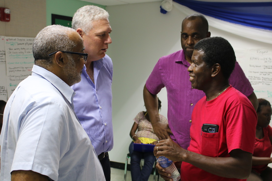 Saint Lucia Government Delegation in Dominica to Continue Assistance