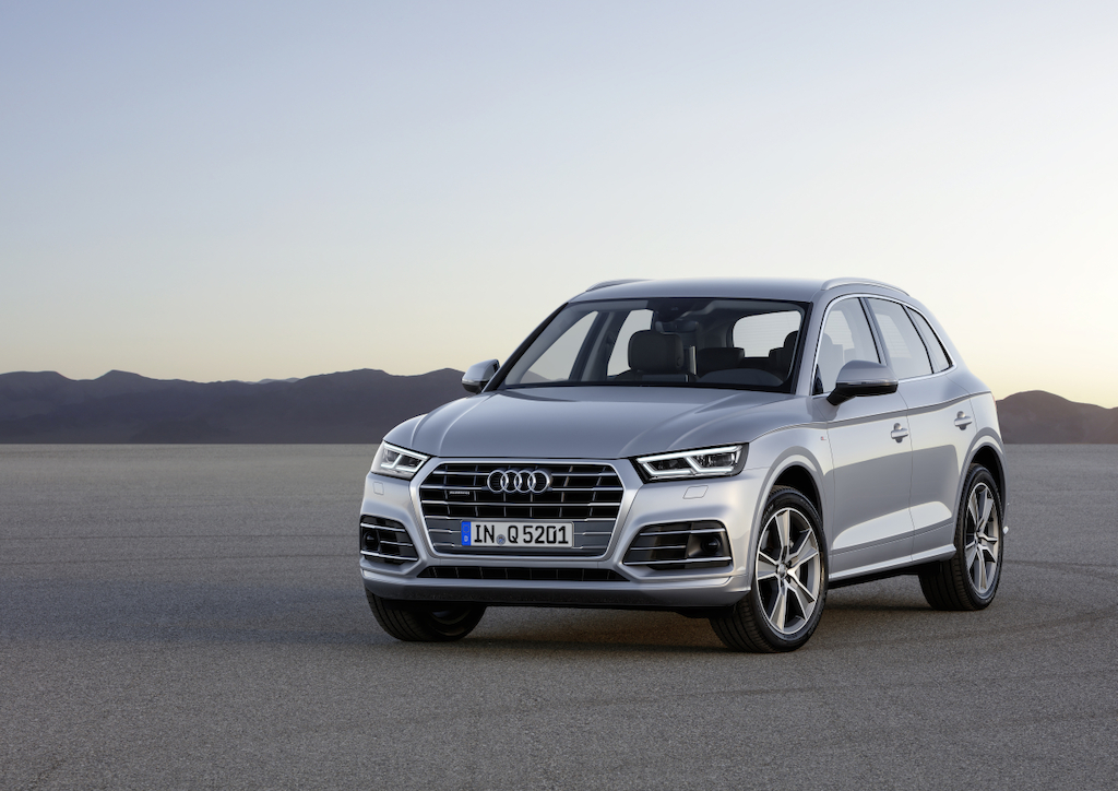 Audi Q5 2017 gris