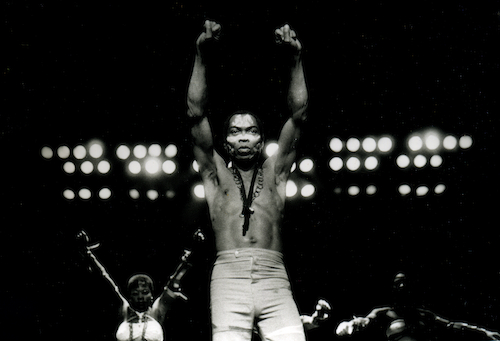 Out Loud! Film: 4.06 - 22:30: FELA KUTI: MUSIC IS THE WEAPON, Stéphane Tchalgadjieff & Jean Jacques Flori