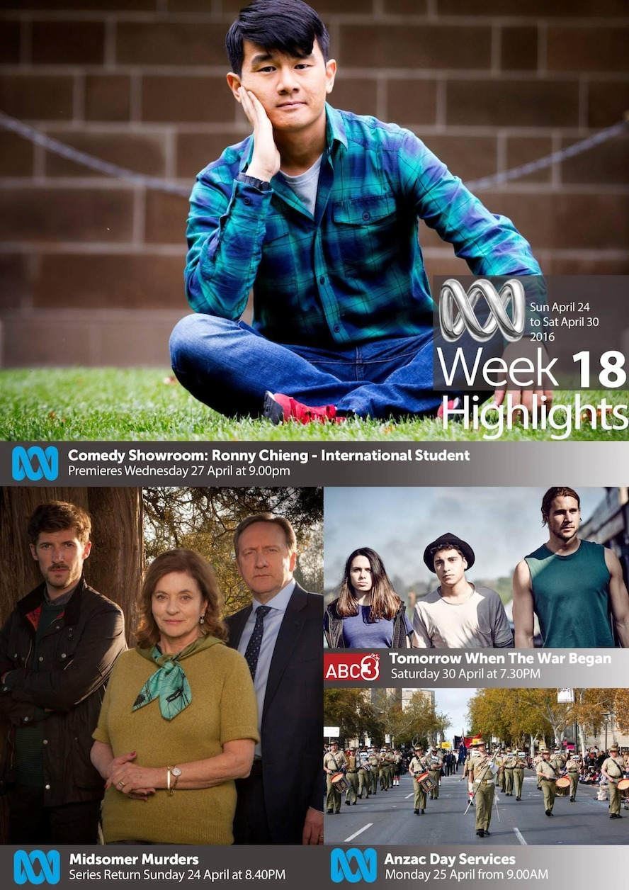 ABC TV Highlights - Week 18