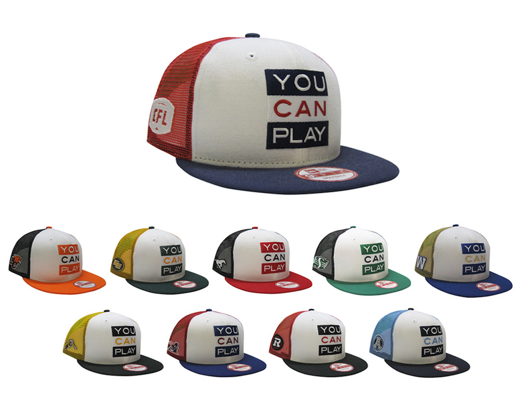 CFL/YCP New Era 950 Limited Edition Snapback collection.