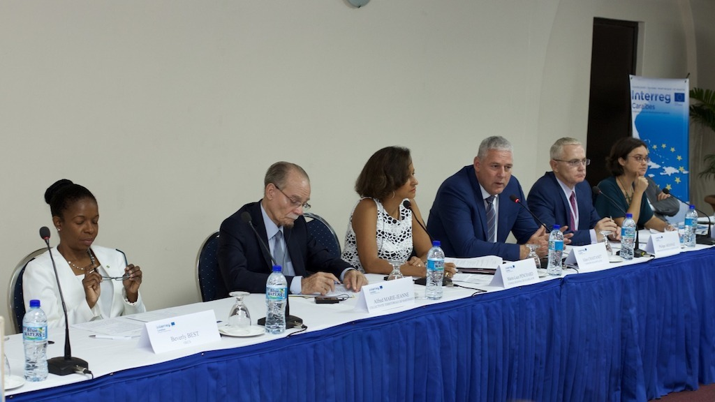 Launch of Interreg Caraïbes Programme in 2016 in St. Lucia with