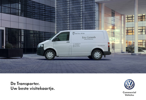 Volkswagen Business Cards - Transporter