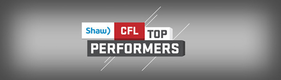 SHAW CFL TOP PERFORMERS OF AUGUST