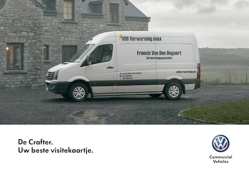 Volkswagen Business Cards - Crafter