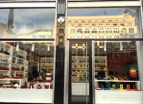 Le creuset ouvre une deuxi me boutique de marque en belgique bruxelles for Ustensiles de cuisine belgique