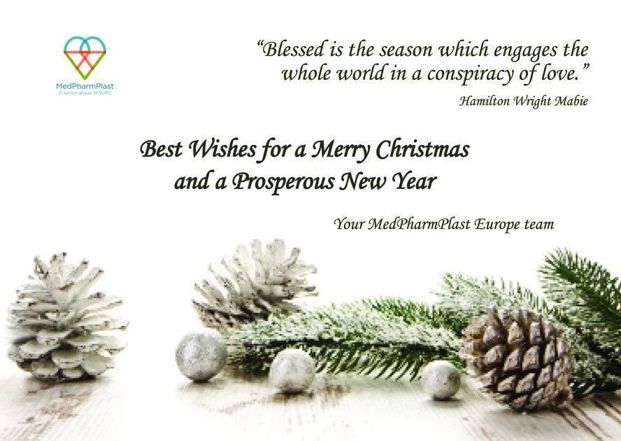 Your Christmas Card from MedPharmPlast Europe