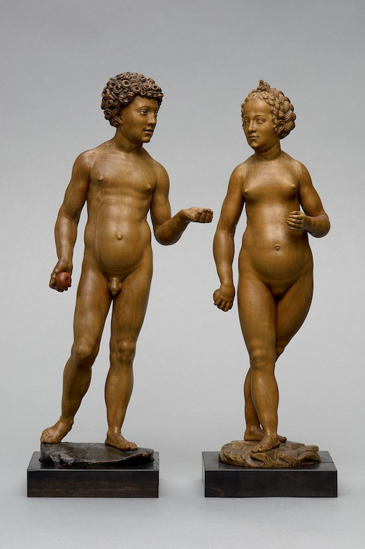 'In Search of Utopia' © <br/>© Conrat Meit, Adam and Eve, after 1530. Kunsthistorisches Museum, Vienna.