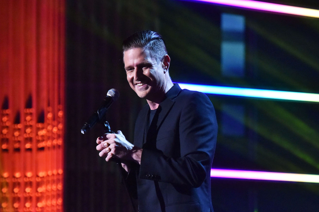 Host of Gala Wil Anderson