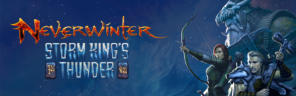 NEVERWINTER: STORM KING'S THUNDER COMING TO PLAYSTATION®4, XBOX ONE OCTOBER 18