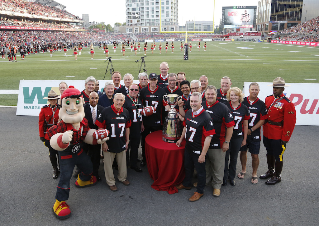 The 105th Grey Cup presented by Shaw to be played in Ottawa in 2017.