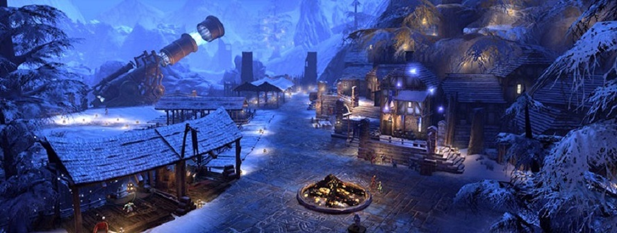Зимний фестиваль в Neverwinter