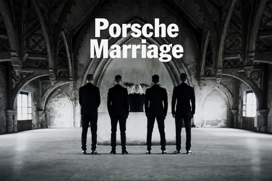 Porsche organises polygamous marriage for the launch of Share a Porsche