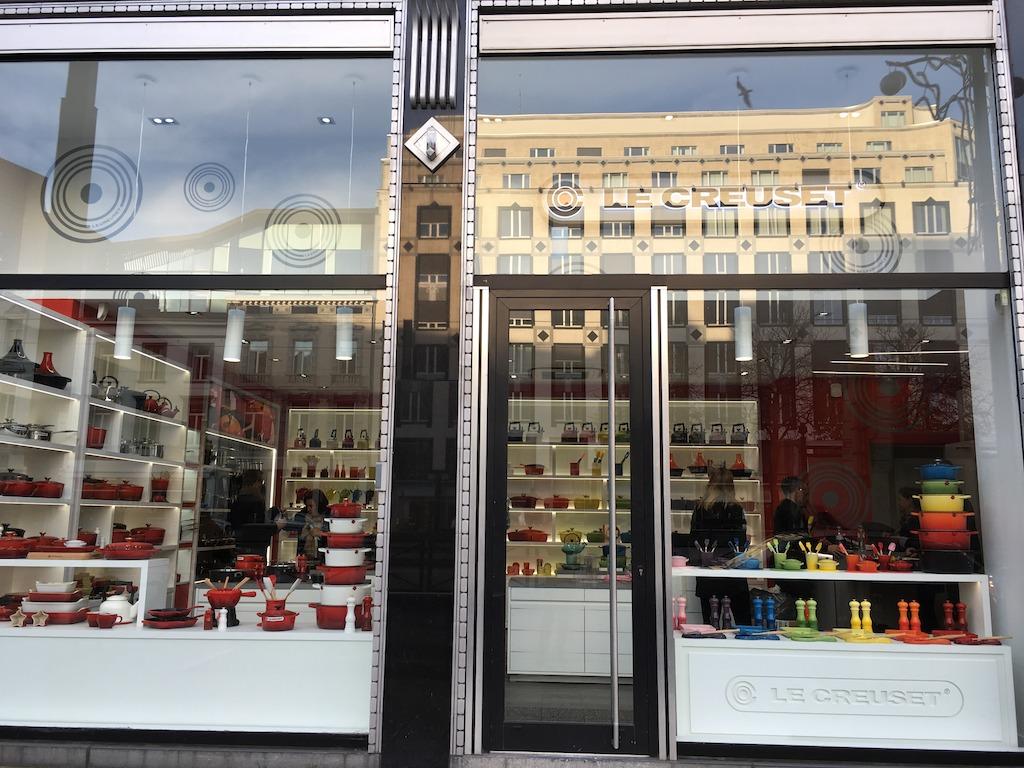 Le creuset opent tweede belgische brandstore in brussel - Le creuset barcelona ...