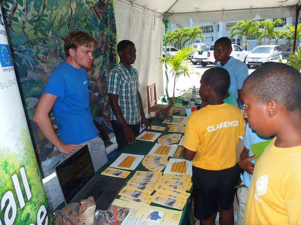 Moments from Climate Fest 2016, held in Dominica.