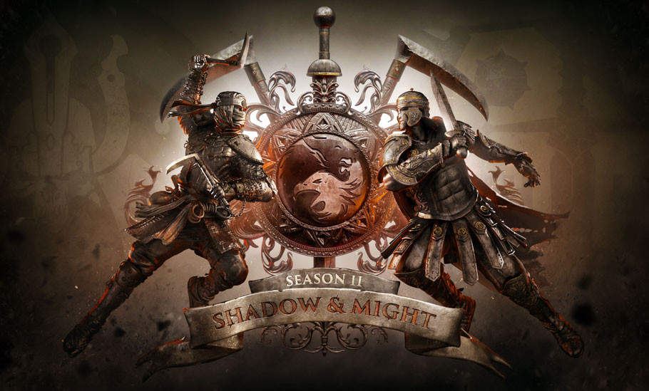 "BIENVENIDO A LA ERA DE ""SHADOW & MIGHT"" DE LA SEGUNDA TEMPORADA DE FOR HONOR™, DISPONIBLE A PARTIR DE HOY"