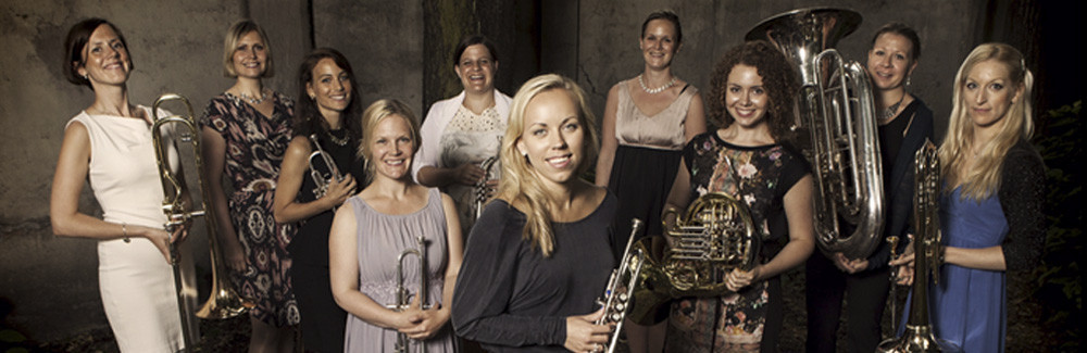 Ten-piece, all-female, all-Norwegian brass ensemble tenThing to tour U.S. in March 2017