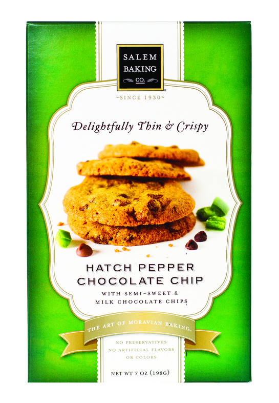 Salem Baking Delightfully Thin and Crispy Hatch Pepper Chocolate Chip Cookies