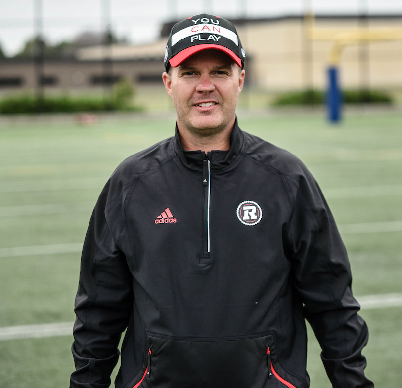 Ottawa REDBLACKS Head Coach Rick Campbell