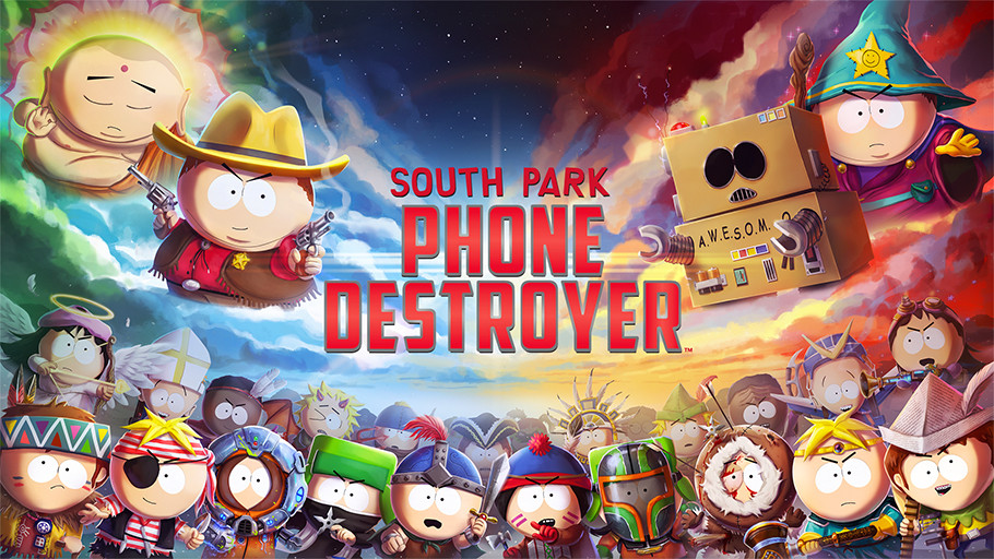 UBISOFT® Y SOUTH PARK DIGITAL STUDIOS SE EXPANDE A MÓVILES CON SOUTH PARK: PHONE DESTROYER™
