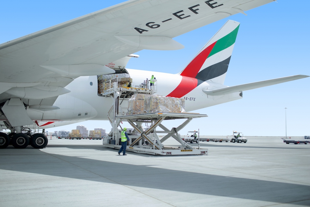 In December 2016, Emirates SkyCargo exported a larger volume of cargo from the UK than any other airline.