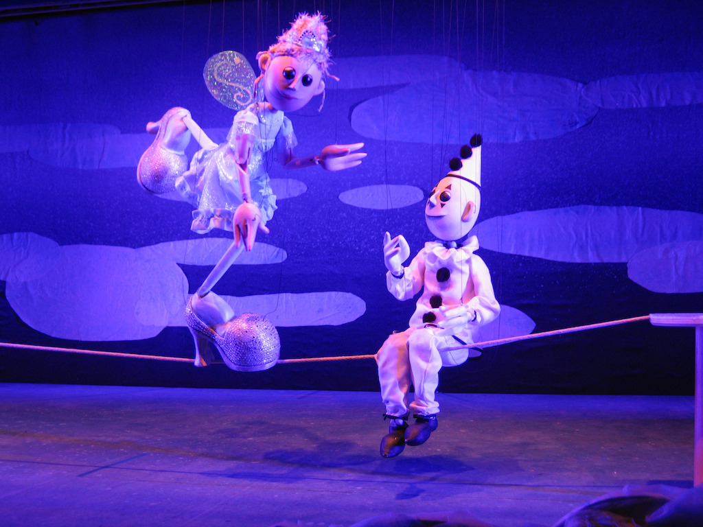 Cinderella Della Circus (Photo by Center for Puppetry Arts)