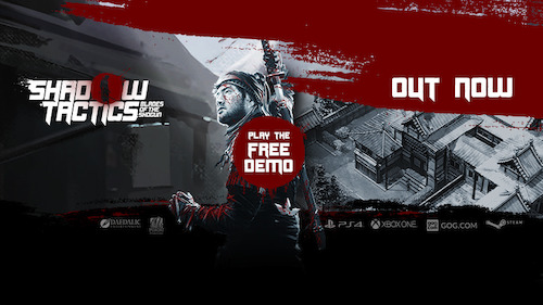 Shadow Tactics - Blades of the Shogun fully released now