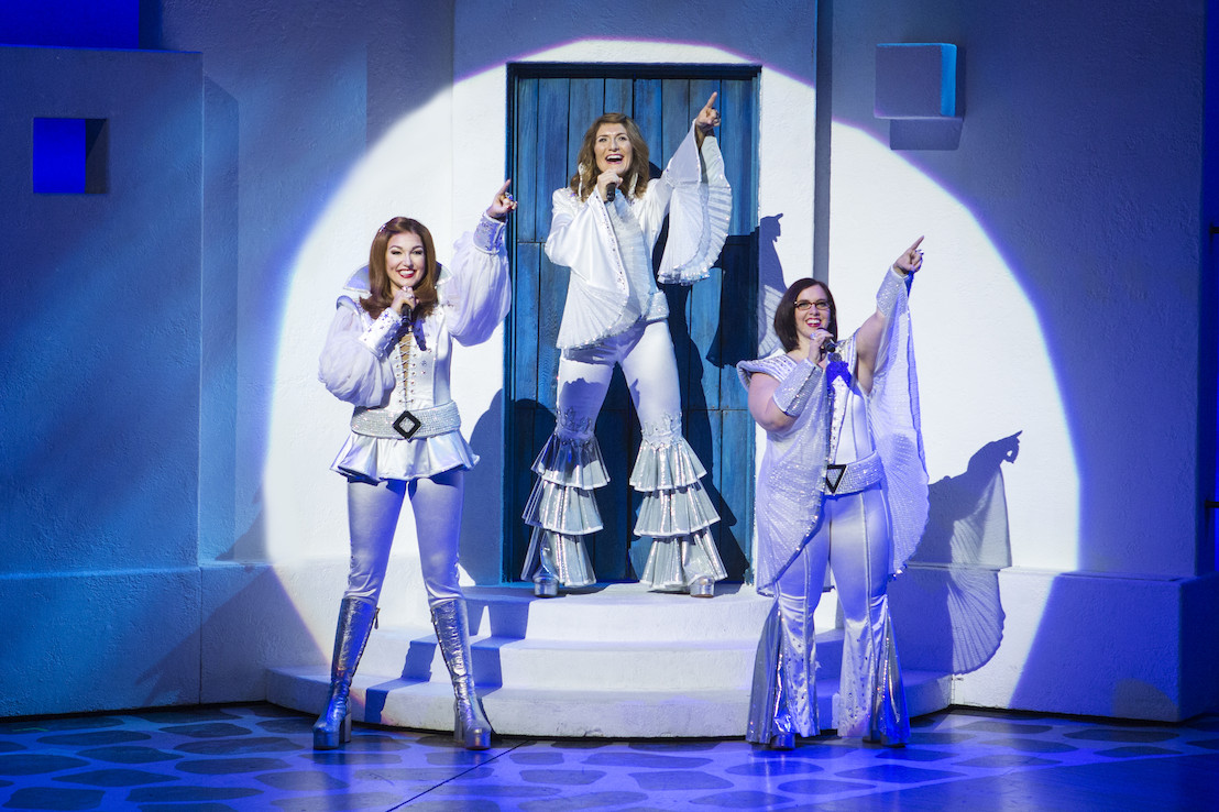 "Broadway in Atlanta offers discounted student rush tickets for the ""MAMMA MIA!"" final farewell tour at the Fox Theatre June 13-18"