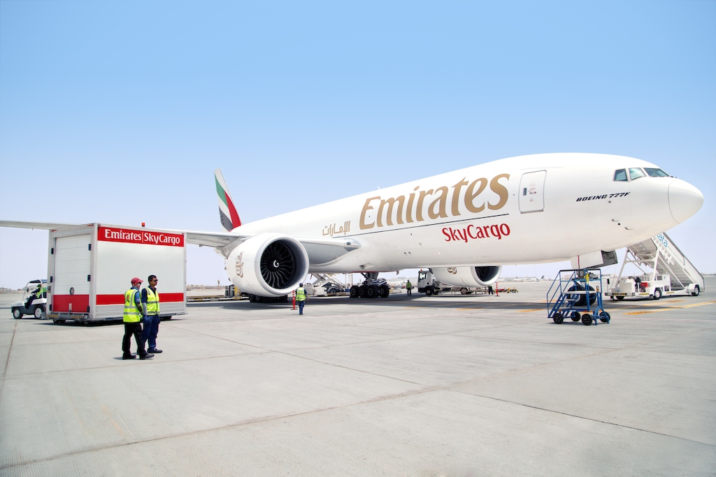 Emirates SkyCargo is Best Cargo Airline in the Middle East for the 27th year
